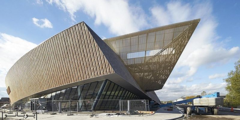 معماری ساختمان کنگره بینالمللی انجمن عکاسی / استودیو لیبسکیند و مهندسین مشاور H2A
