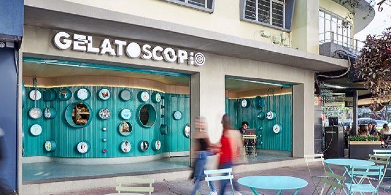 معماری و طراحی داخلی مغازه بستنی فروشی مکزیکی / شرکت معماری esrawe and cadena