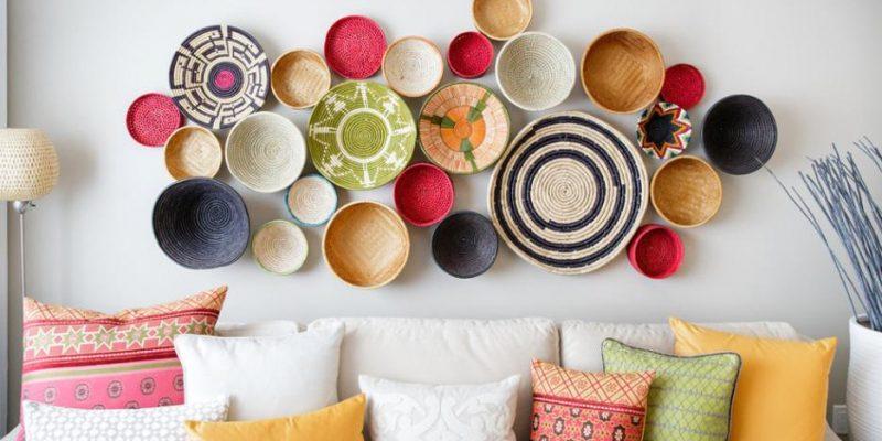 تزیین دیوار با ۱۰ ایده جذاب و رنگارنگ