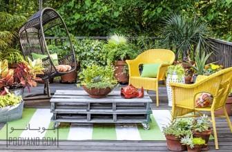 جالب ترین ایده های گل کاری به روش ساده در دکوراسیون حیاط ، پاسیو و بالکن