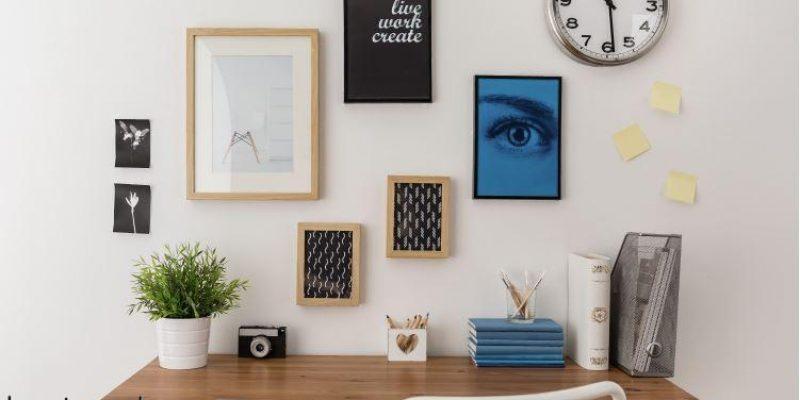 ۵ نکته برای مرتب کردن میز کار بدون کشو در منزل