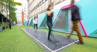 طراحی اولین خیابان هوشمند جهان در لندن که ردپاهای مردم را به انرژی تبدیل می کند