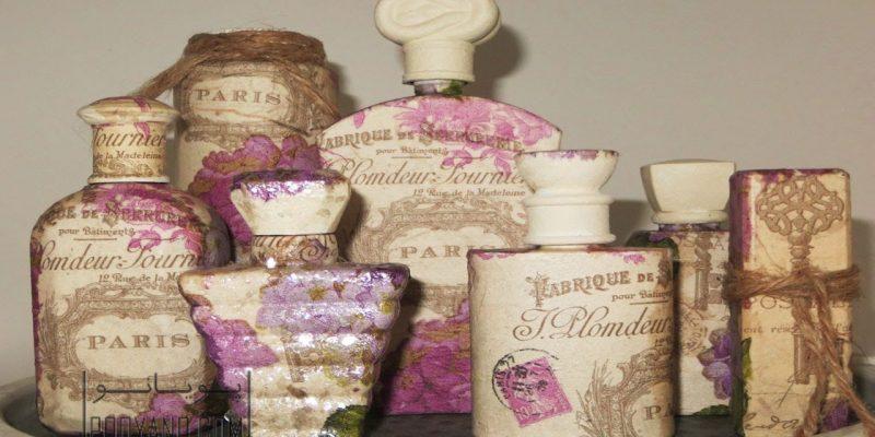 دکوپاژ ، هنر زیبایی بخشیدن به وسایل قدیمی برای داشتن یک دکوراسیون متفاوت