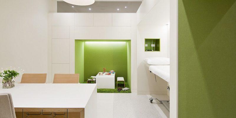 طراحی داخلی کلینیک : فضایی که از ماندن در آن خسته نمی شوید