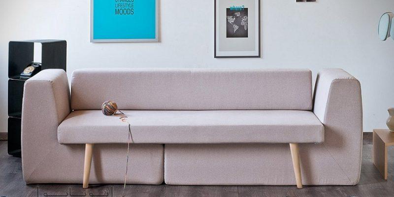 مبل تخت خواب شو و مدولار سوفیستا: راهکار خلاقانه چیدمان فضاهای کوچک