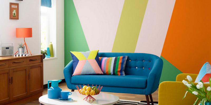 دکوراسیون داخلی رنگارنگ را با ست های جذاب و زیبا تجربه کنید