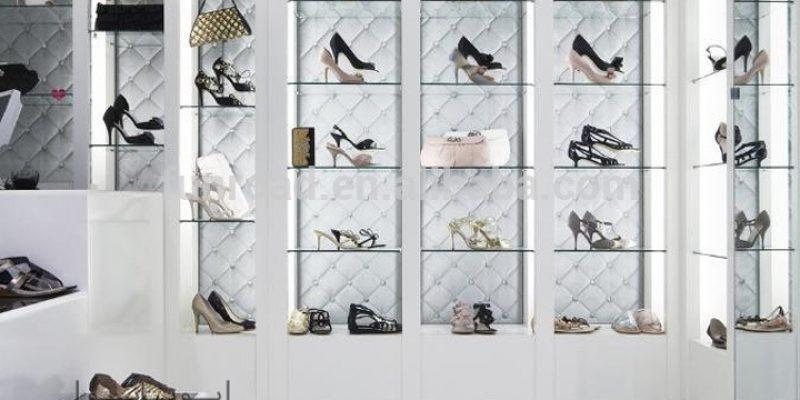 دکوراسیون فروشگاه کفش : چیدمان جذاب این چند مغازه کفش فروشی را ببینید!