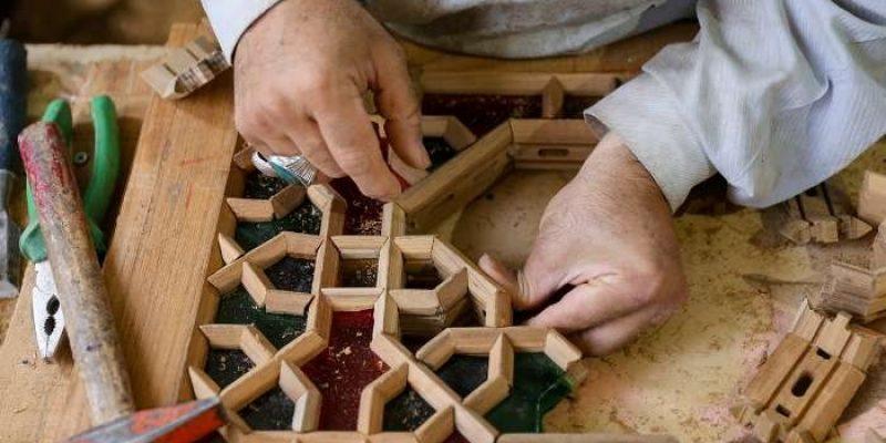 گره چینی در معماری : هنر اصیل تزیین نما و مبلمان