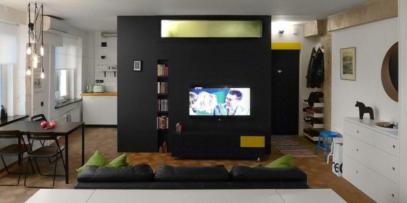 طراحى خانه هایى کوچک با متراژ زیر ۵۰ متر مربع