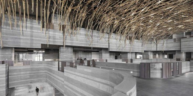 مرکز نمایشگاهی و هنرهای اجرایی (Hub) در چین