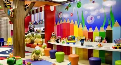 کاغذ دیواری مهد کودک در طراحی داخلی