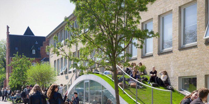 توسعه فضای ورزشی و هنری در دبیرستان / گروه معماری BIG