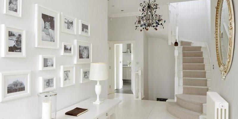 چگونه مجموعه چندتایی از قاب ها روی دیوار منزل نصب کنیم؟