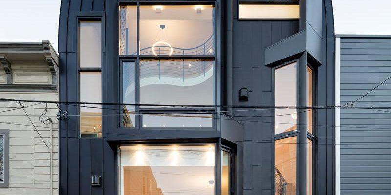 رنگ نمای خانه ؛ ۱۴ نمونه از خانه های مدرن سیاه رنگ در سراسر جهان