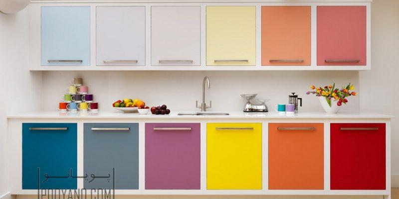 راهنمای انتخاب رنگ کابینت آشپزخانه : کدام گزینه برای آشپزخانه شما مناسب است؟