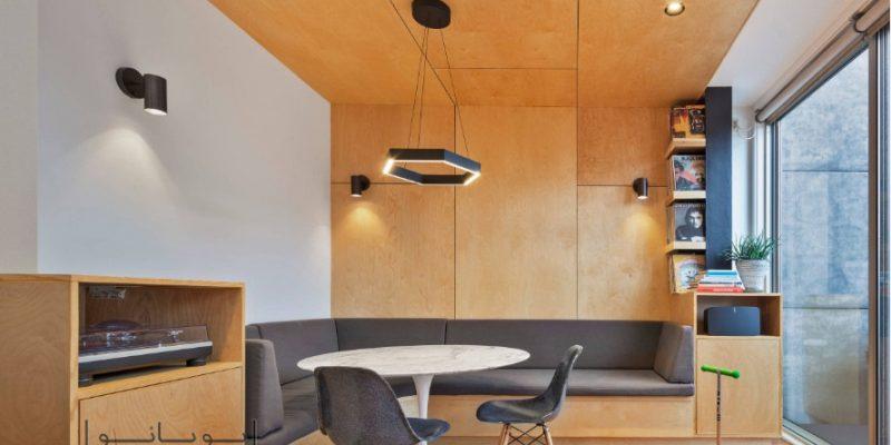 چوب کم رنگ در طراحی داخلی و فواید استفاده رنگ روشن چوب در منزل