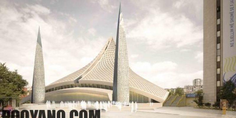 مسجد مدرن، مسابقه طراحی مسجد مرکزی پریشتینا