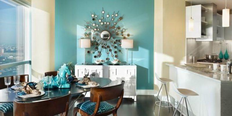 اتاق های سفید با ترکیب رنگ های روشن شاد