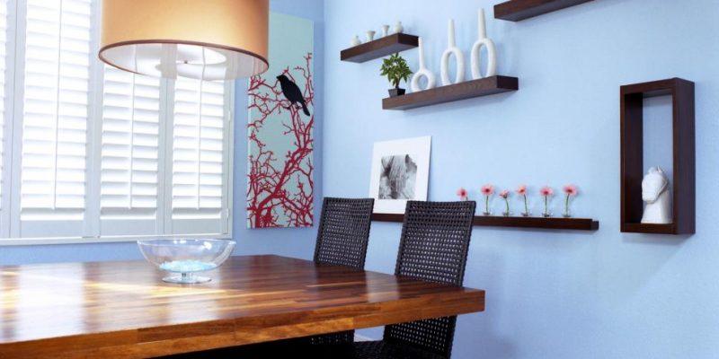 شلف و قفسه ؛ ۹ روش برای ترکیب بندی و چیدمان شلف و قفسه در منزل