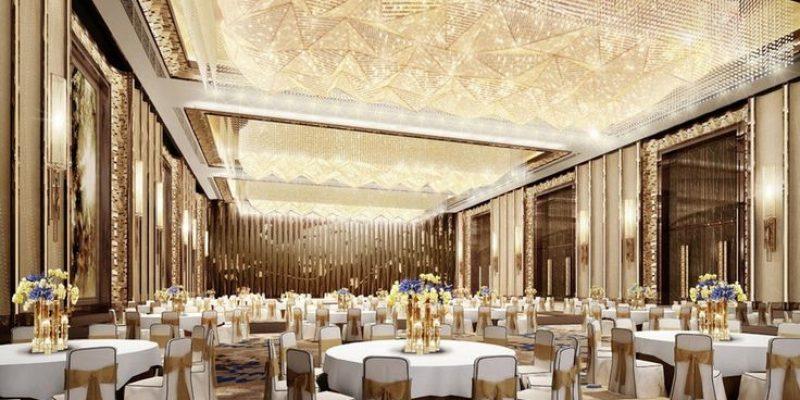 طراحی داخلی سالن و تالار عروسی
