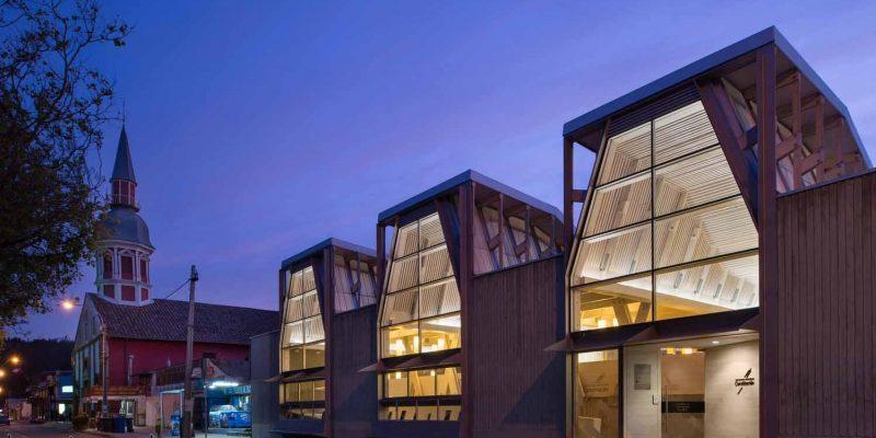 بازسازی و طراحی کتابخانه عمومی constitucion / مهندس معمار Sebastian Irarrázaval