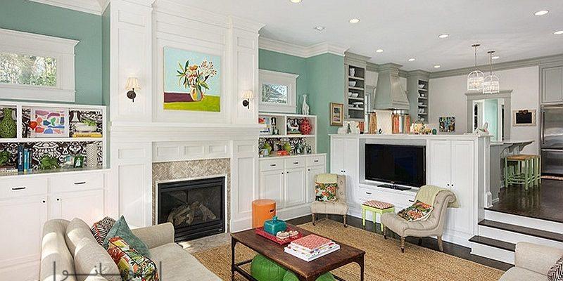 انتخاب رنگ دیوار اتاق : چطور دقیقا رنگ آمیزی مورد علاقه تان را برای دیوار منزل انتخاب کنید