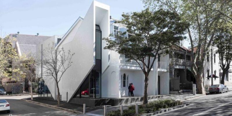 طراحی ساختمان کراون ۵۱۵ / معماری Smart Design