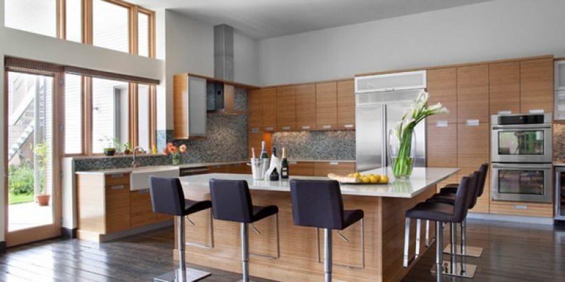 ۱۵ طرح L شکل کابینت آشپزخانه معاصر و شگفت انگیز