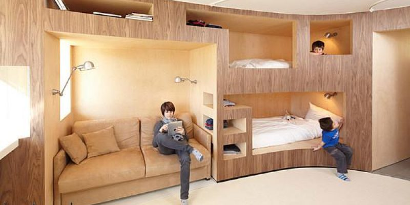 انواع مدلهای تختخواب دوطبقه