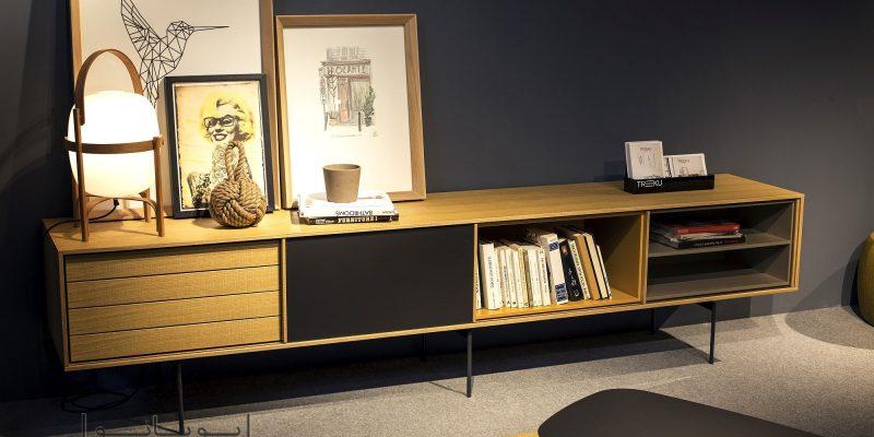 قفسه های مدرن و شیک ، جایگزین قفسه های ساده و کسل کننده با ۱۵ روش ذخیره کردن کتاب ها