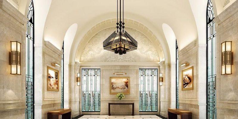 سنگ واترجت ، کابرد سنگ فرش تزئینی در طراحی داخلی خانه