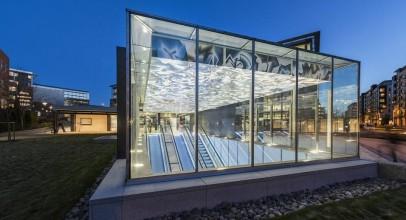 طراحی ایستگاه مترو Nydalen / معماران Kristin Jarmund