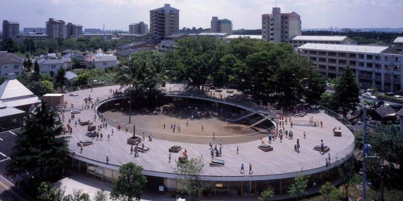 طراحی مهدکودک Fuji در توکیو / معماران Tezuka