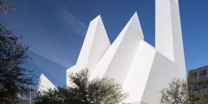 معماری و طراحی کلیسای پوئبلو سرنا