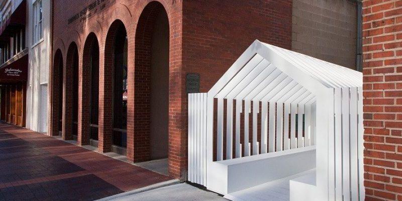 طراحی و معماری سازه های خیابانی برای نمایشگاه کلمبوس / Snarkitecture و Formafantasma