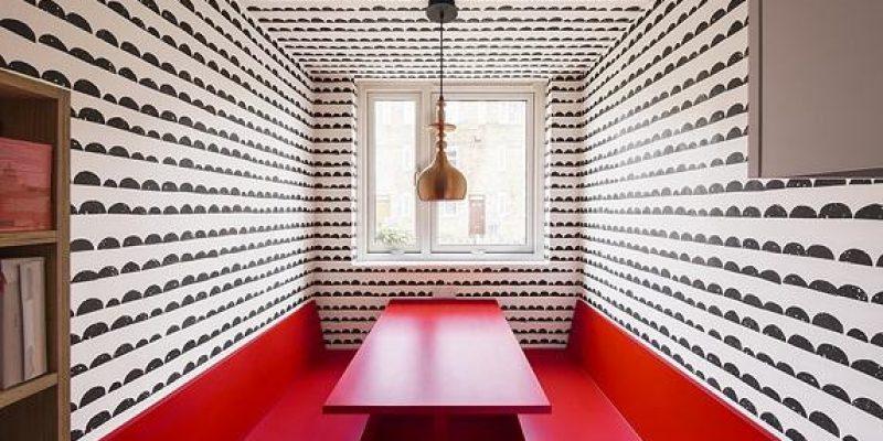طراحی داخلی بهینه یک آپارتمان ۴۵ متری در لندن