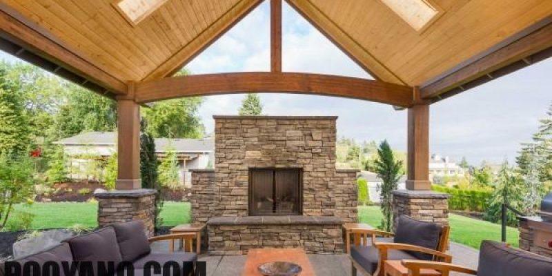 سقف مناسب برای پاسیو منزل