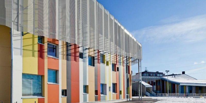 طراحی مدرسه و مهدکودک کالاساتاما / JKMM Architects