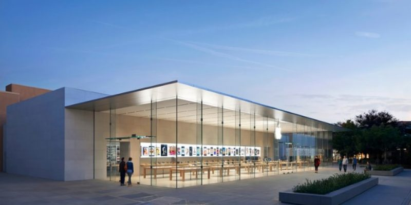 معماری و طراحی داخلی فروشگاه اپل در استنفورد / معمار Bohlin Cywinksi Jackson