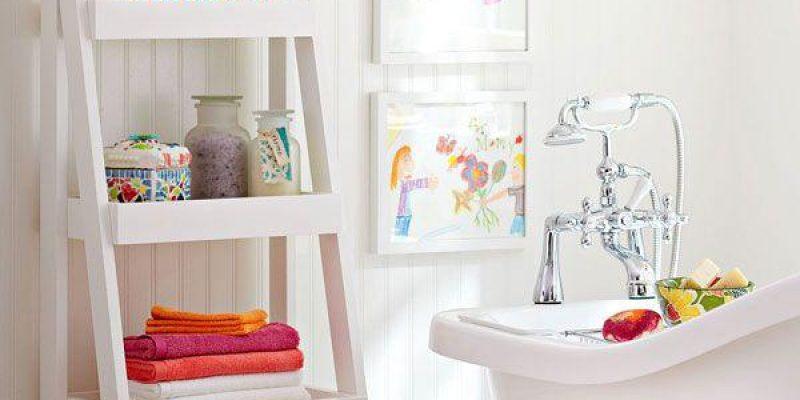 طراحی داخلی حمام کوچک و کاربردی برای خانه های گرم و نرم