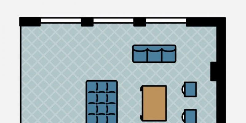 ۴ روش هوشمندانه برای طرح ریزی چیدمان مبلمان اتاق پذیرایی