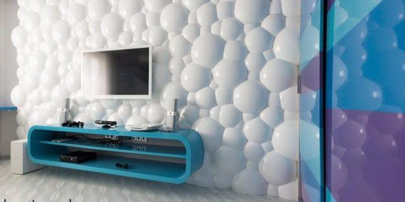پنل دیواری سه بعدی ۳D panel ؛ دکوری برای دکوراسیون خارق العاده