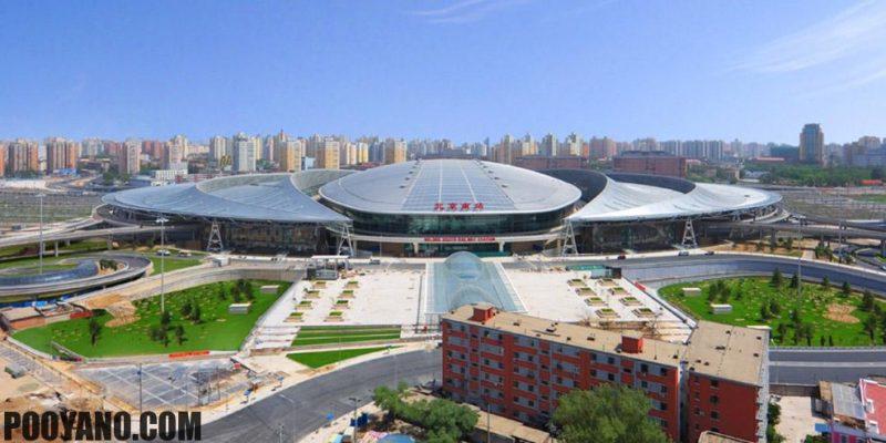 طراحی ایستگاه راه آهن جنوبی بیجینگ