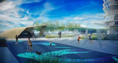 طراحی و معماری پارک تعاملی در بالای یک مرکز خرید / معماری Dmytro Aranchii