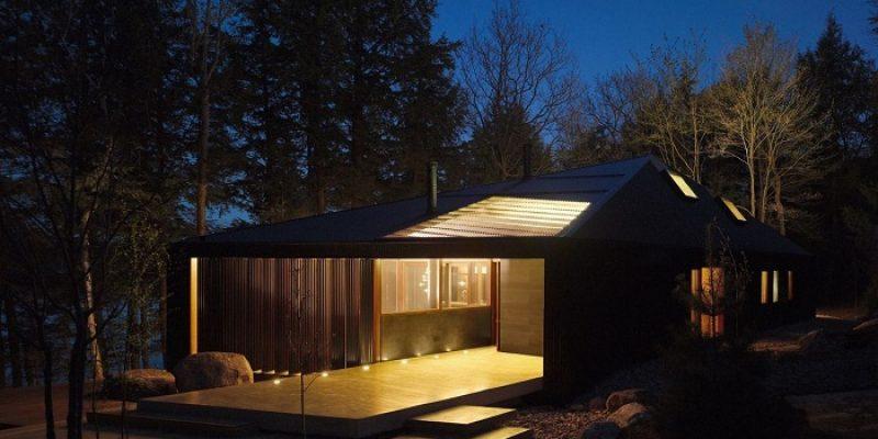 طراحی و اجرای کلبه Clear Lake / گروه معماران MacLennan Jaunkalns Miller