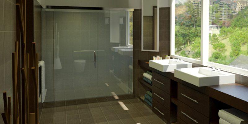 انواع طراحی حمام و سرویس برای احساس راحتی بیشتر