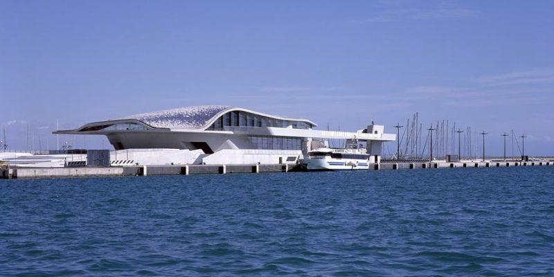 طراحی و معماری ترمینال دریایی سالرنو / زاها حدید