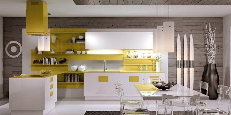 نمونه آشپزخانه های مینیمال و مجلل (بخش اول)