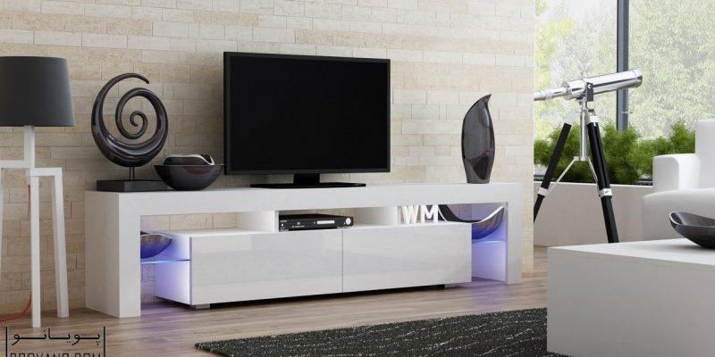۳۰ مدل میز تلویزیون یا استند تلویزیون با ظاهری مدرن در دکوراسیون منزل و در عین حال کاربردی