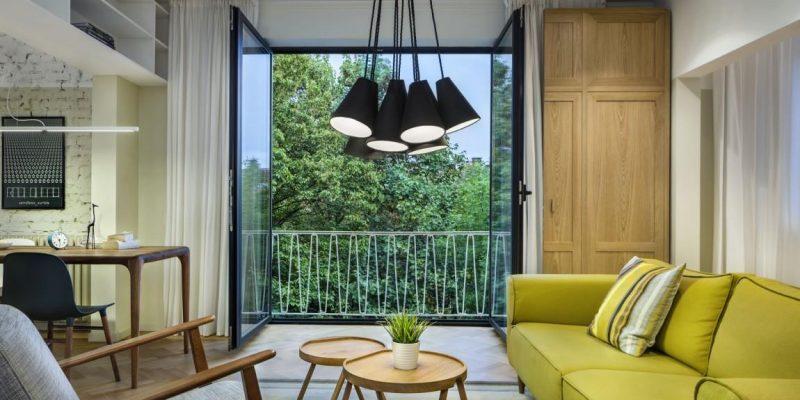 طراحی داخلی خانه در مرز بین مدرن و روستیک